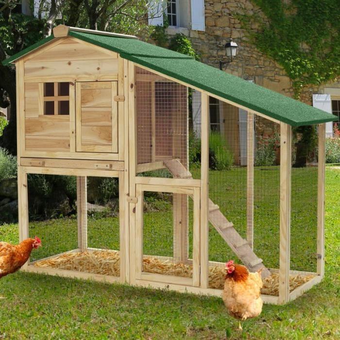 elever poules jardin